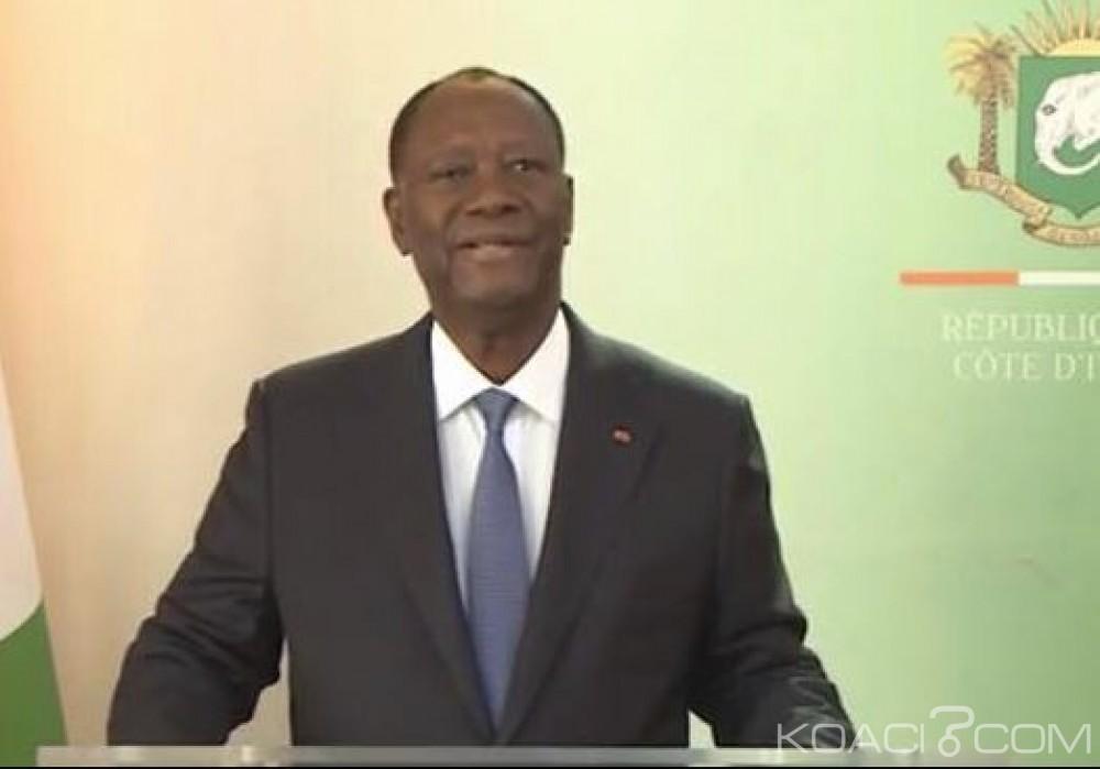 Côte d'Ivoire: Ouattara ne dit rien sur 2020 mais annonce les chiffres de la croissance et des projets