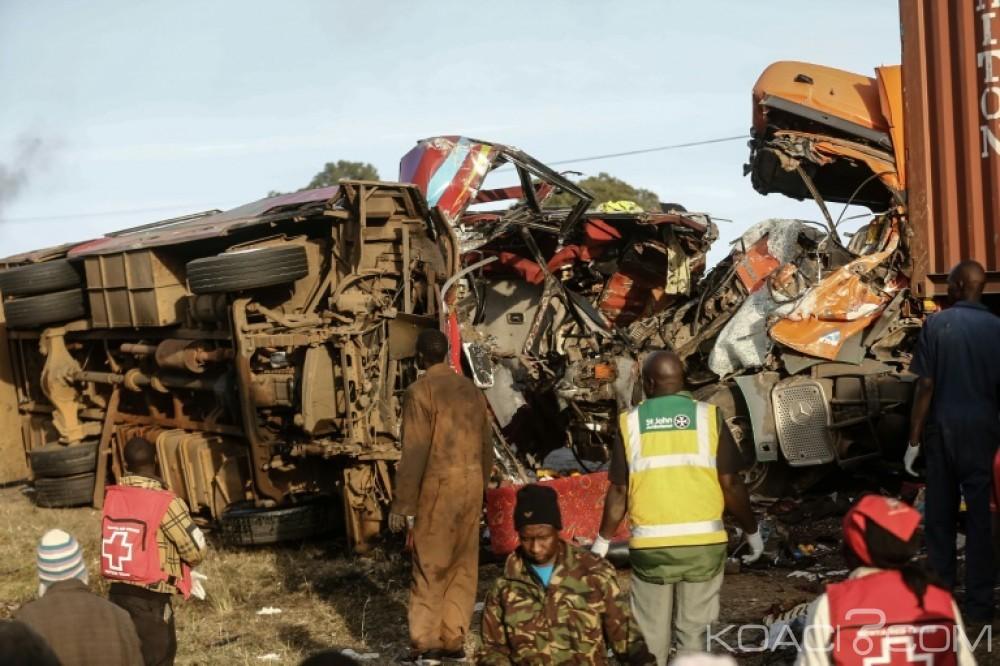 Kenya: 36 morts dans une terrible collision frontale dans le centre