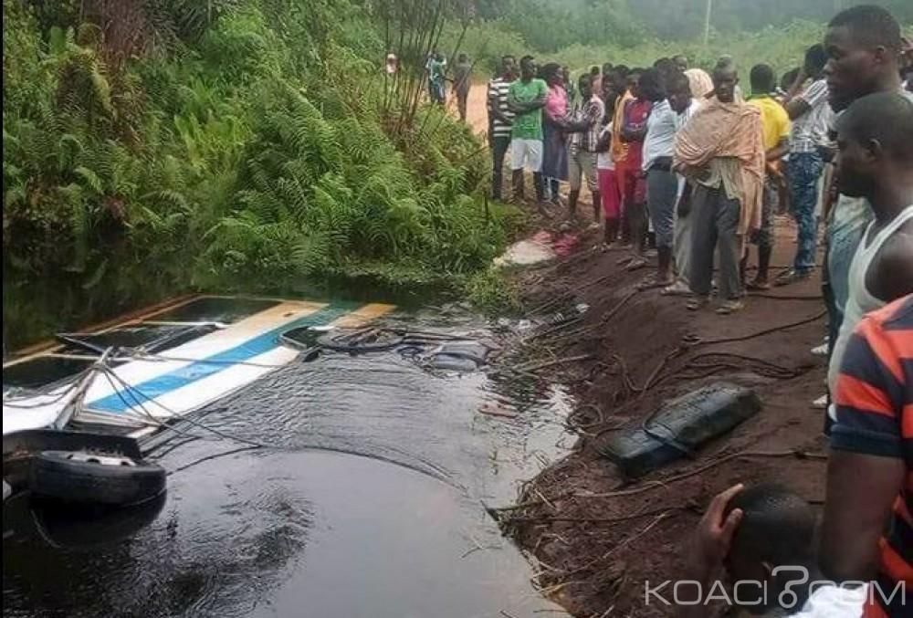 Côte d'Ivoire: Drame à Adiaké, un bus fini dans une rivière, 14 morts dont 6 enfants