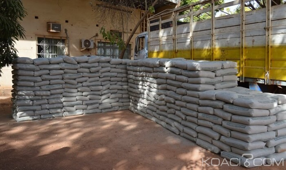 Burkina Faso: 28 tonnes de ciment frauduleux saisies