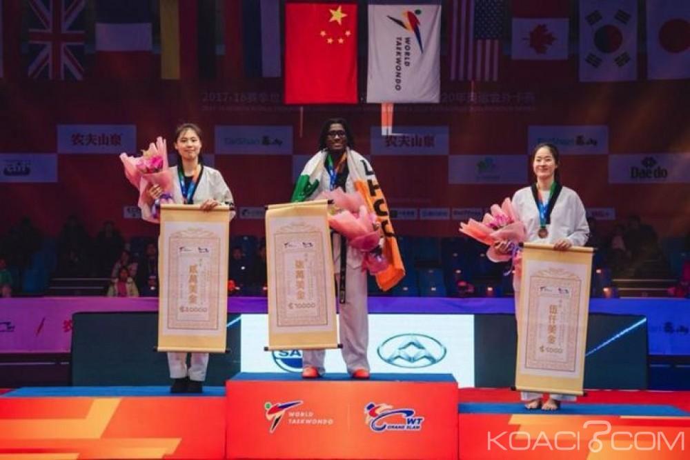 Côte d'Ivoire: Taekwondo, Ruth Gbagbi se pare de l'or en Chine