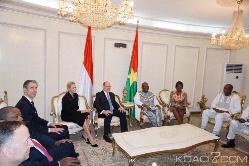 Burkina Faso: Arrivée à Ouagadougou du Prince Albert II de Monaco