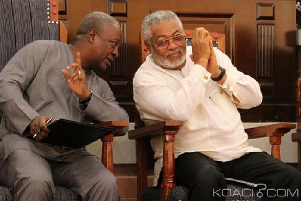 Ghana: Point faible des relations entre Mahama et Rawlings