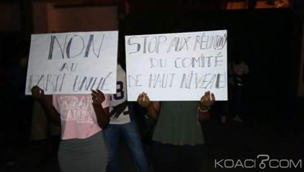Côte d'Ivoire: Cocody, des jeunes du PDCI bloquent l'accès de leur siège au comité de haut niveau du RHDP