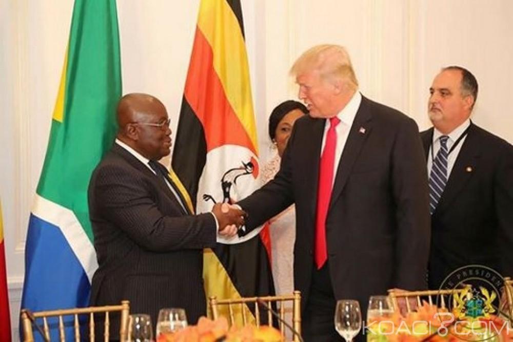 Ghana: Akufo-Addo: «Nous n'accepterons pas les insultes» de Trump