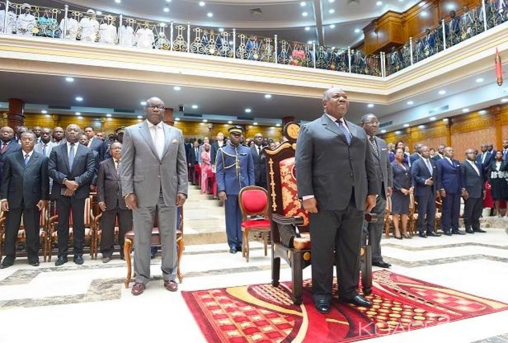 Gabon: Ali Bongo assiste à la rentrée de sa «si chère» Cour Constitutionnelle et inaugure le nouveau palais des sports de Libreville
