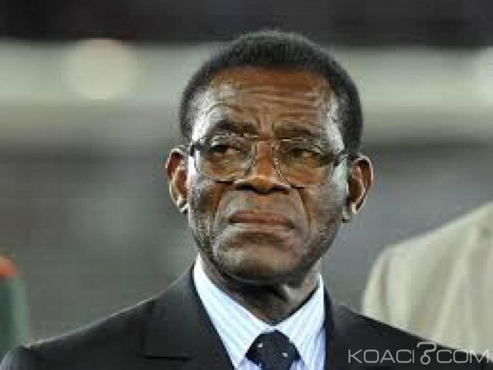 Guinée  Equatoriale:  Obiang réclame des  «sanctions dures» contre les auteurs du putsch avorté