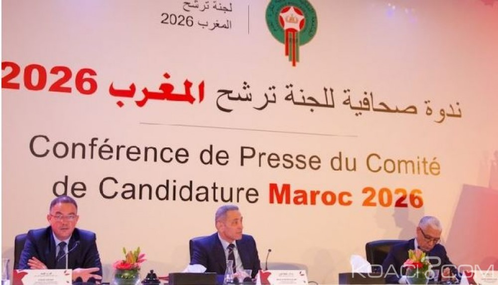 Maroc: Organisation du mondial 2026, le pays officialise sa candidature