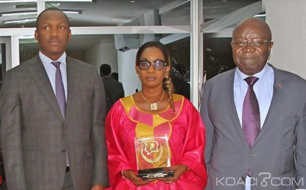 Côte d'Ivoire: Enseignement technique, les meilleurs apprenants et la Directrice du CETF Bouaké ont reçu leurs trophées