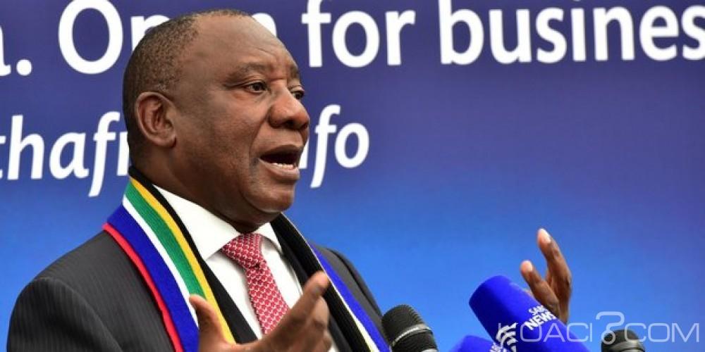 Afrique du Sud: A Davos, Cyril Ramaphosa assure qu'il n'y aura pas de «passe-droit» pour Zuma