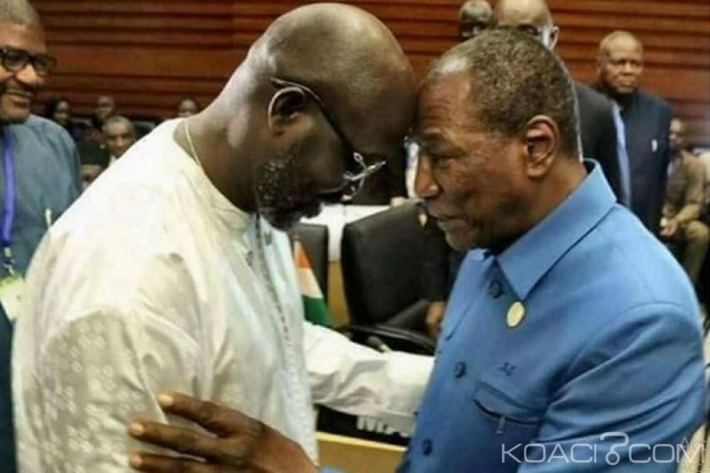 Liberia:  «Baptême» pour Weah au sommet de  l'UA
