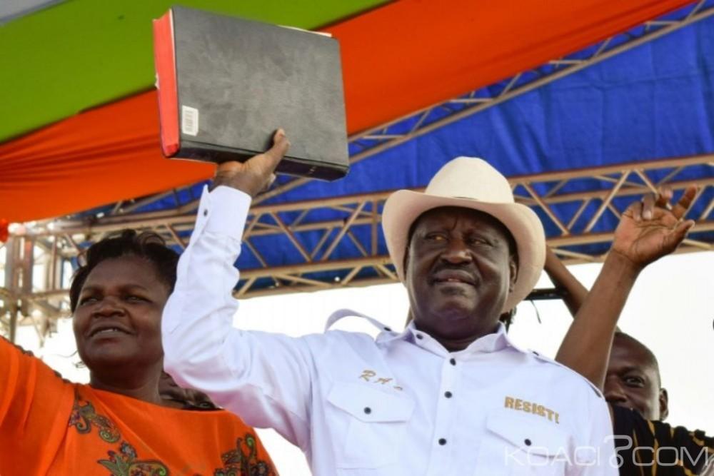 Kenya: L'opposition défie le pouvoir et investi  Raila Odinga «Président alternatif»