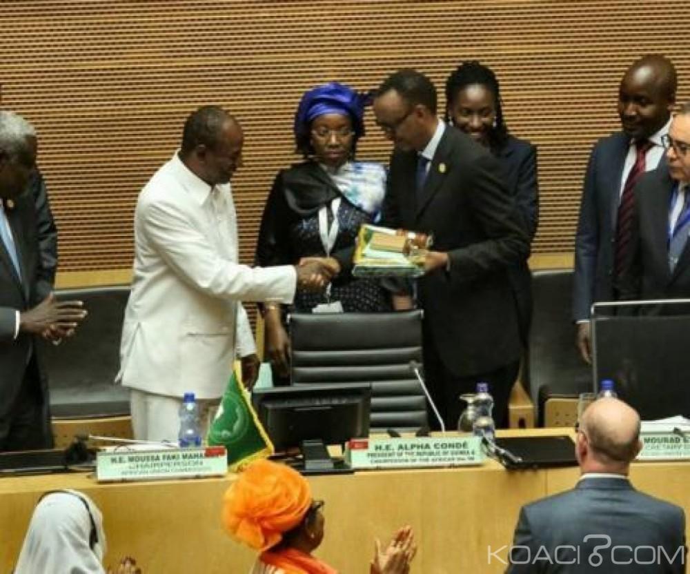Afrique: 30 ème sommet de l'UA,  Paul Kagame  veut rendre l'organisation «  plus independante »