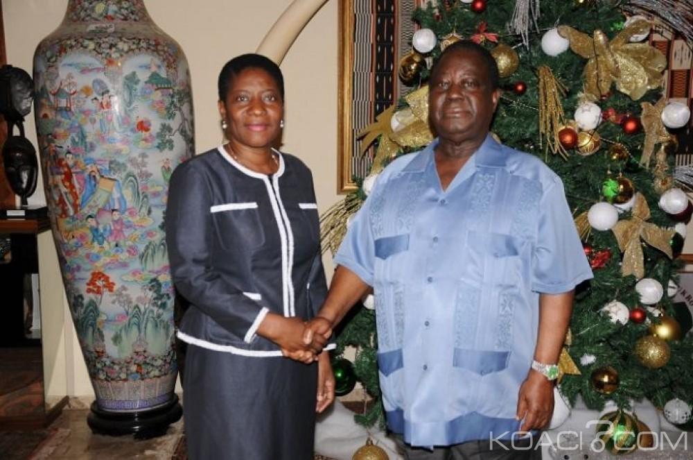 Côte d'Ivoire: L'ex-proche de Gbagbo, Henriette Lagou chez Bédié pour prendre conseils