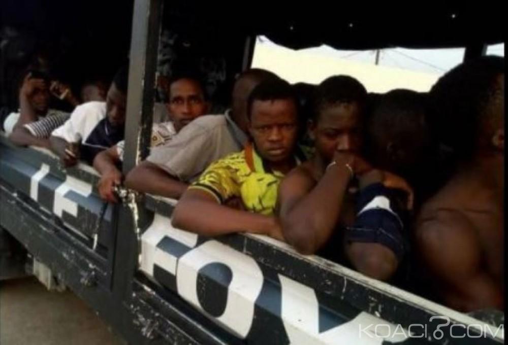 Côte d'Ivoire: Vaste opération de la police à Abobo, une centaine d'individus interpellés, drogues  et armes blanches saisies