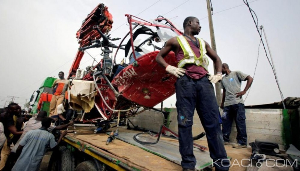 Côte d'Ivoire: Crash d'hélicoptère à Motobé, un blessé, le gouvernement suspend la compagnie