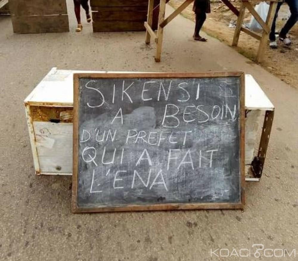 Côte d'Ivoire: Manifestation à Sikensi pour la chefferie, le «départ»  du préfet réclamé
