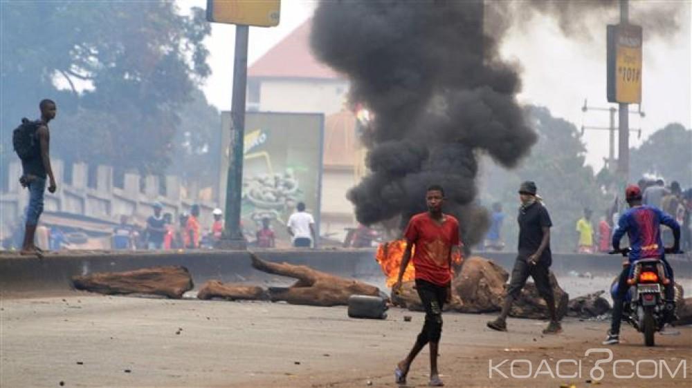 Guinée: Violences post-électorales, un étudiant succombe à ses blessures, Condé appelle au calme