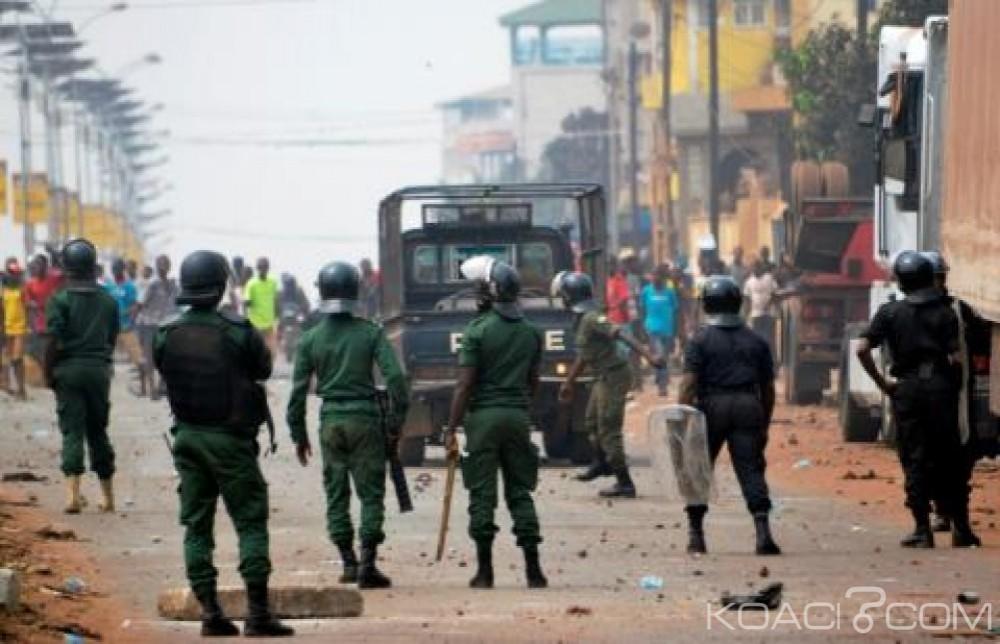 Guinée: Violences  post-électorales, enquête après la mort de  deux jeunes hommes à Conakry