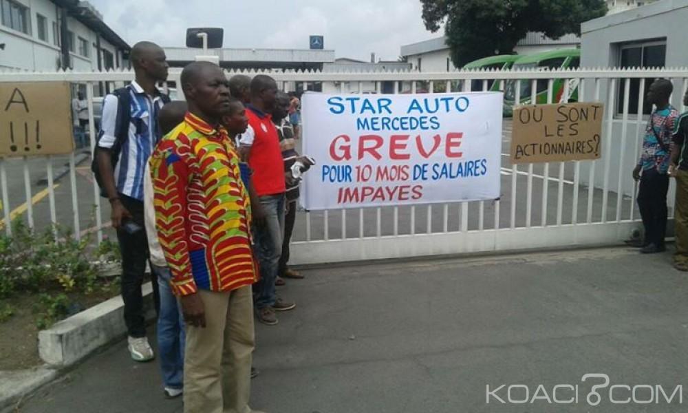 Côte d'Ivoire: 6 à 10 mois de salaires impayés, raz le bol des employés et grève chez Star Auto