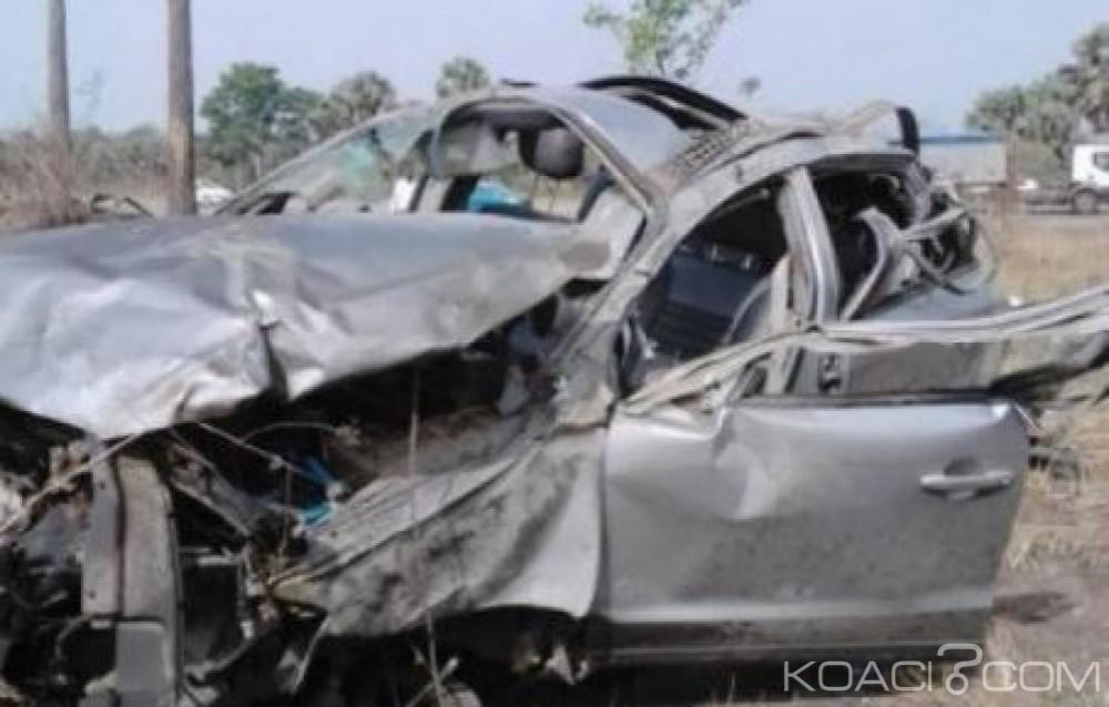 Côte d'Ivoire: Drame, sortie de route d'un 4x4 sur l'autoroute du nord, 5 morts