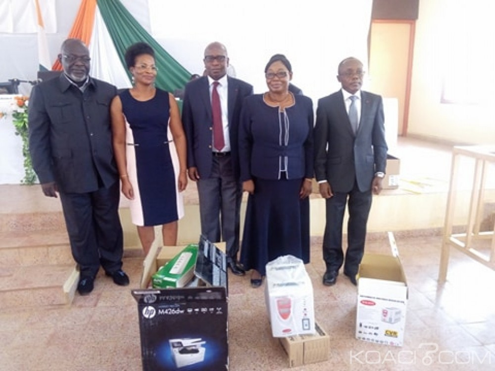 Côte d'Ivoire: Daloa, modernisation de l'appareil judiciaire, du matériel informatique et bureautique à la cour d'appel