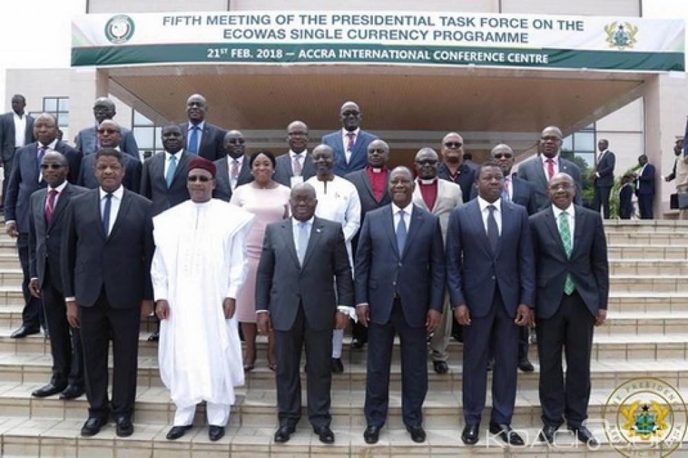 Ghana - Cedeao: Monnaie unique de la Cedeao, cap sur l'an 2020