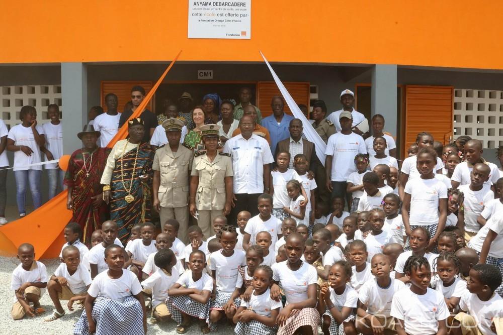 Côte d'Ivoire:  La Fondation Orange dote le village d'Anyama-Débarcadère d'infrastructures de base