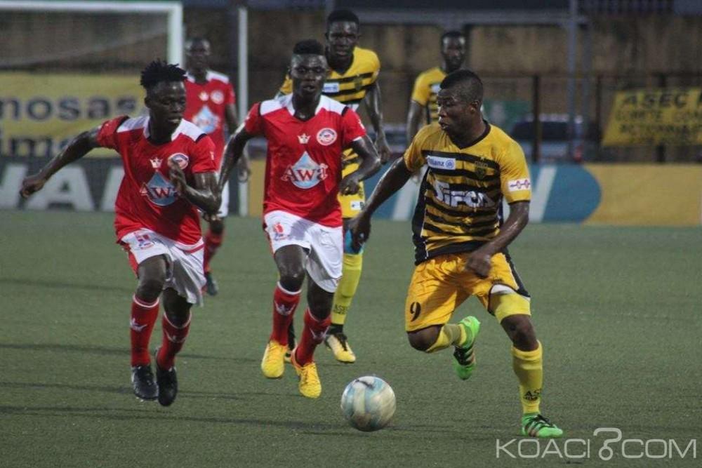 Côte d'Ivoire: 15ème journée, l'Asec Mimosas enchaine sa 12ème victoire d'affilée et accentue son écart en championnat