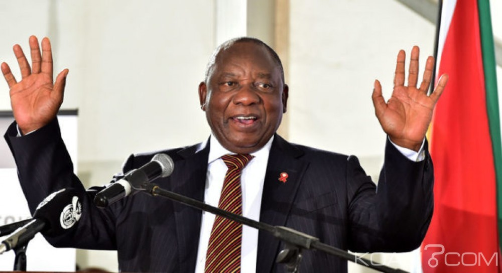 Afrique du Sud:  Cyril Ramaphosa forme un gouvernement et fait revenir deux ministres limogés par Zuma