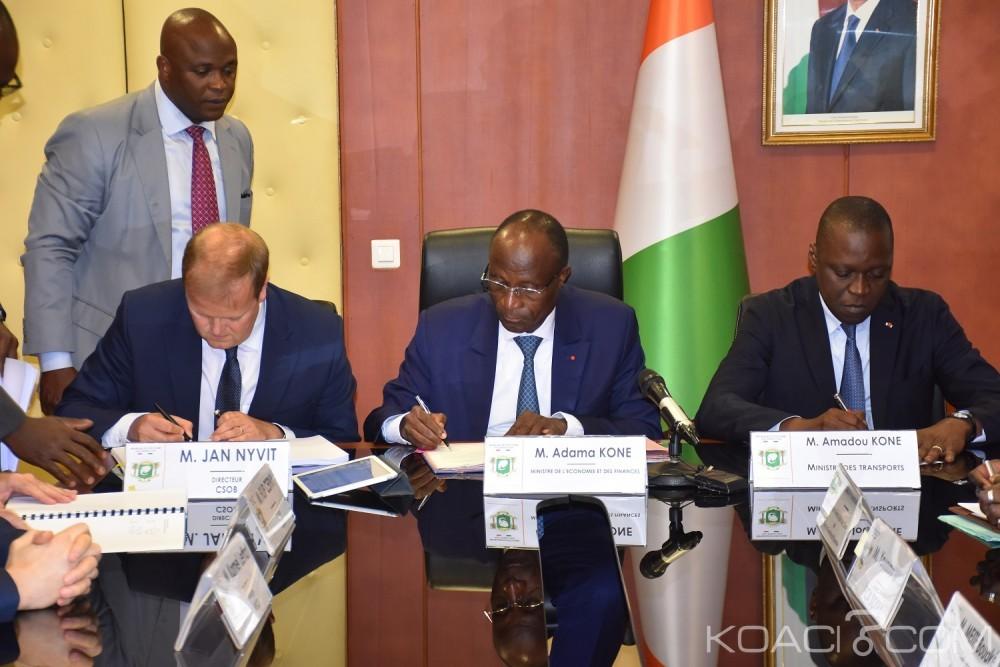 Côte d'Ivoire: Abidjan, le Gouvernement signe un accord de financement d'acquisition de 450 autobus au profit de la SOTRA avec une banque Tchèque
