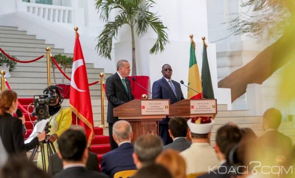 Sénégal: À Dakar Erdogan s'«attaque» à la France en déclarant que l'esclavage est une honte pour l'humanité