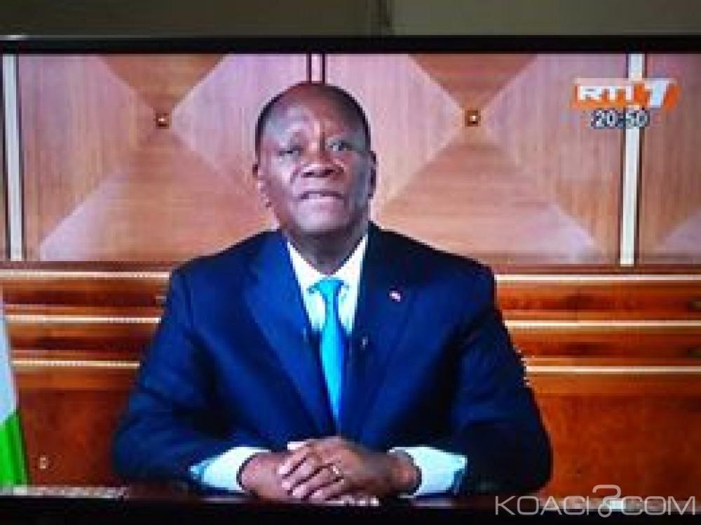 Côte d'Ivoire: Ouattara annonce le déploiement en nombre sur le terrain les forces de défense et de sécurité et menace de punir sévèrement le racket