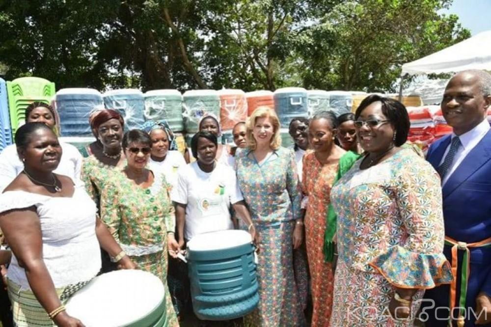 Côte d'Ivoire: Journée internationale de la femme, Dominique Ouattara augmente le FAFCI de Cocody de 150 millions de FCFA
