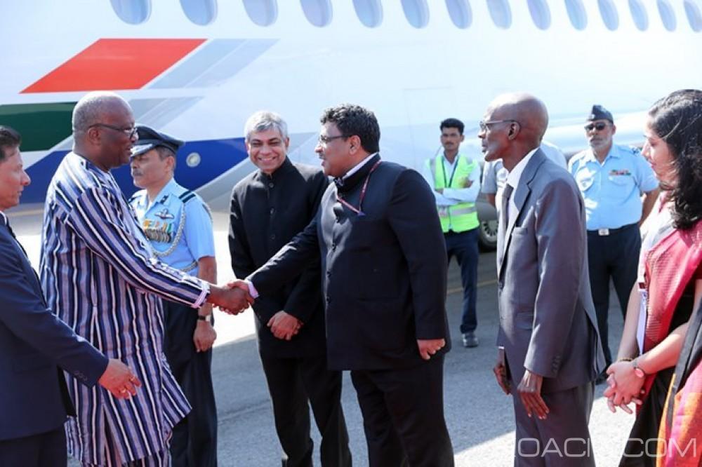 Burkina Faso: Le président Kaboré à New Delhi pour le  Sommet de l'Alliance solaire internationale