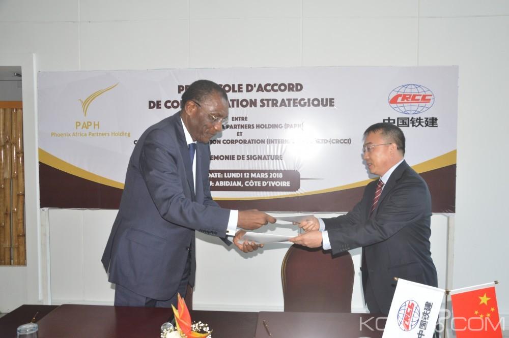 Côte d'Ivoire: Une signature «stratégique» entre PAPH et CRCCI pour booster les secteurs de la construction du BTP, infrastructures et les énergies renouvelables