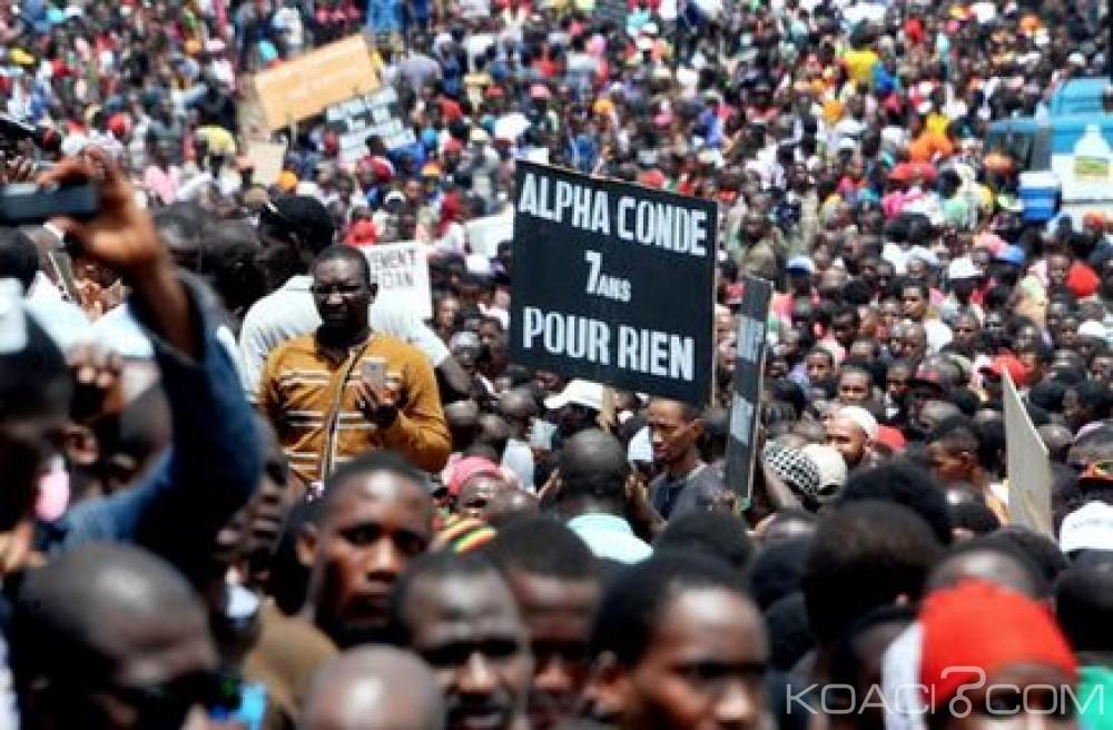 Guinée: «Journée ville morte» , des manifestants ne veulent plus du Président Alpha Condé