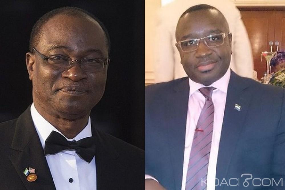 Sierra Leone: Présidentielle, Samura Kamara et Maada Bio admis pour le second tour