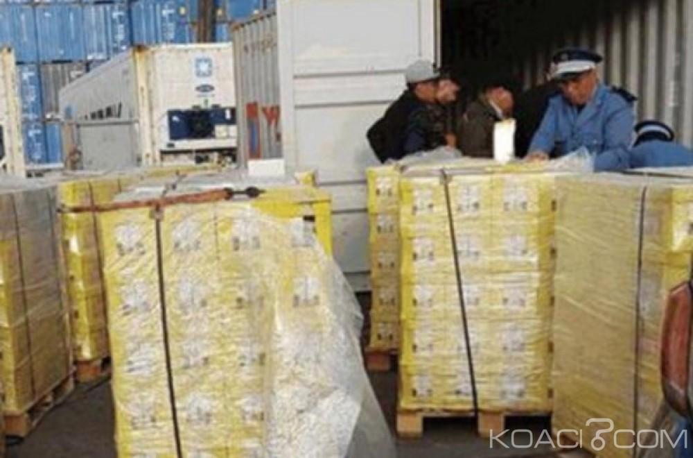 Maroc:  Saisie de 240 kilos de haschich cachés  dans des briques de jus d'orange à Casablanca