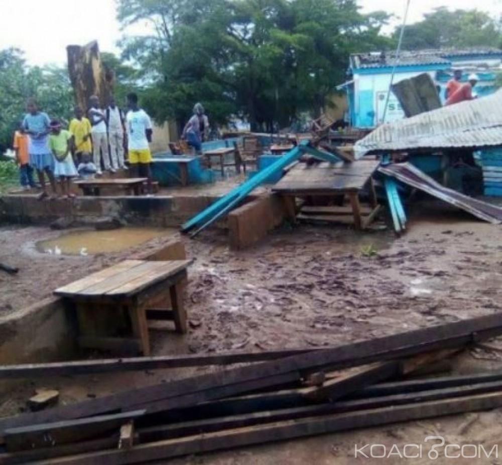 Côte d'Ivoire:  Biankouman, les soutiens aux sinistrés du tonnerre se font attendre