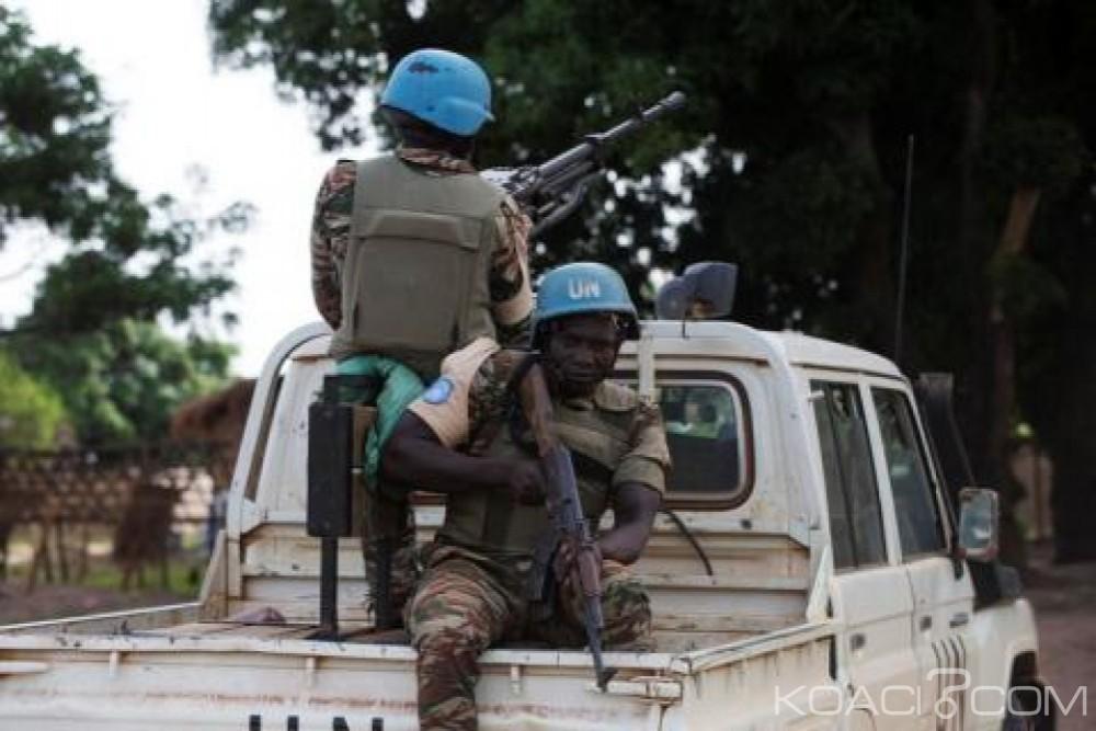 Centrafrique: Échange de tirs entre groupes armés à Alindao, deux morts et deux casques bleus  blessés
