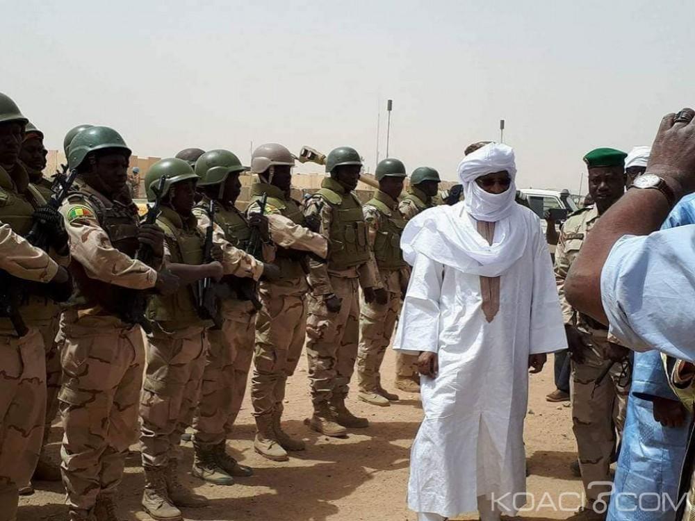 Mali:  Première visite du chef du gouvernement Soumeylou Boubeye Maïga  à Kidal,  cinq soldats français blessés