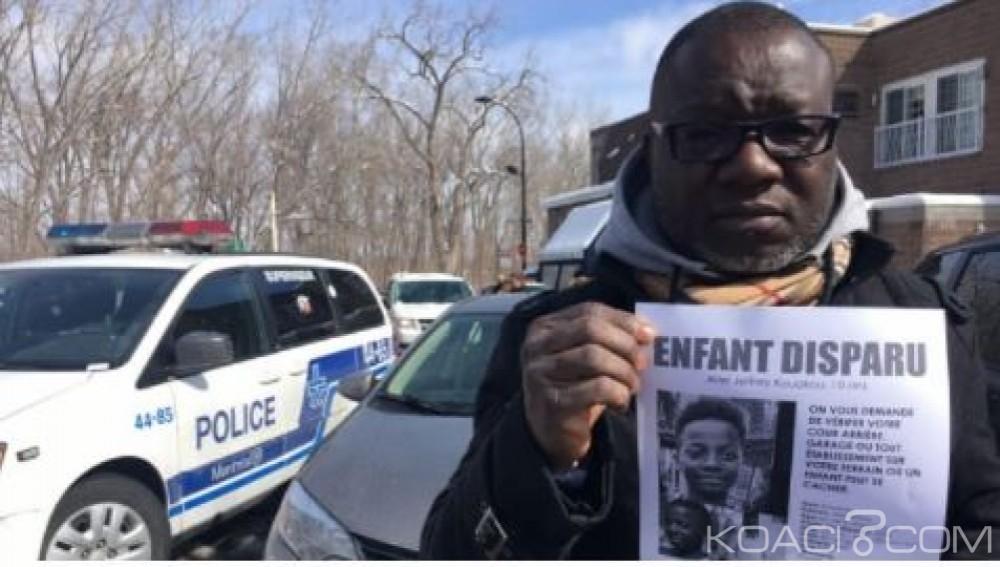 Côte d'Ivoire: L'enfant porté disparu au Canada, la police privilégie la thèse de la noyade, 53 millions FCFA en récompense