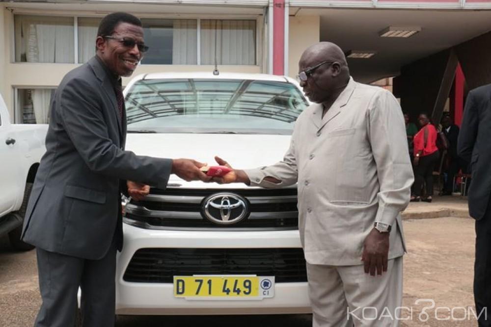 Côte d'Ivoire: Pétrole et énergie, des Directeurs régionaux et départementaux dotés de matériel roulant