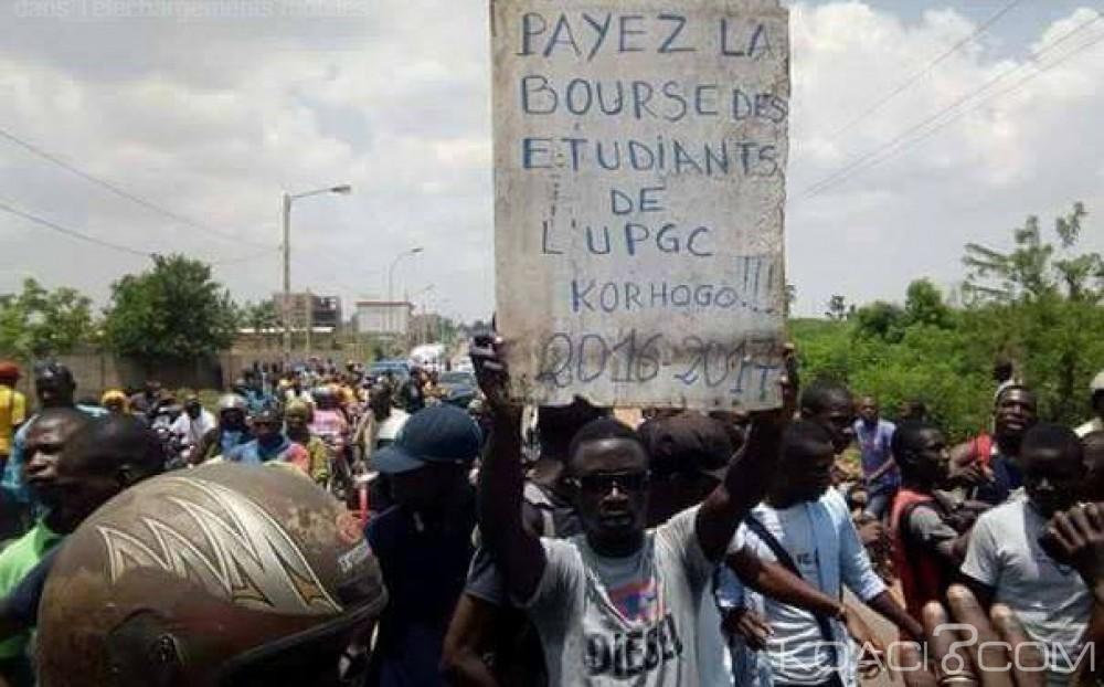 Côte d'Ivoire: Manifestation de colère à Korhogo, les étudiants réclament le paiement des bourses