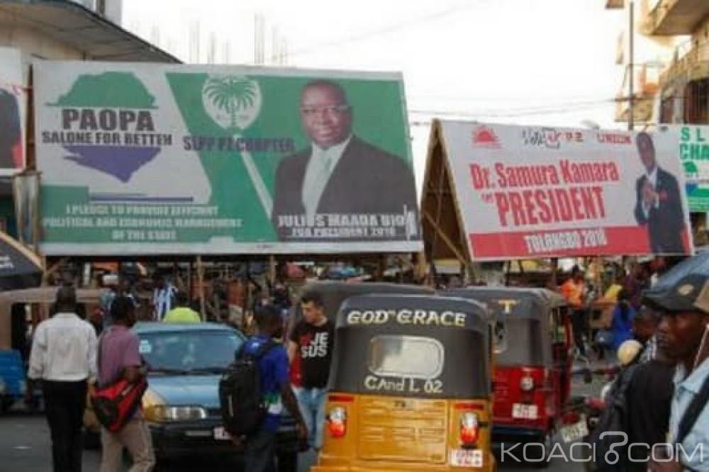 Sierra Leone: Présidentielle, incertitude sur la date du 2e tour