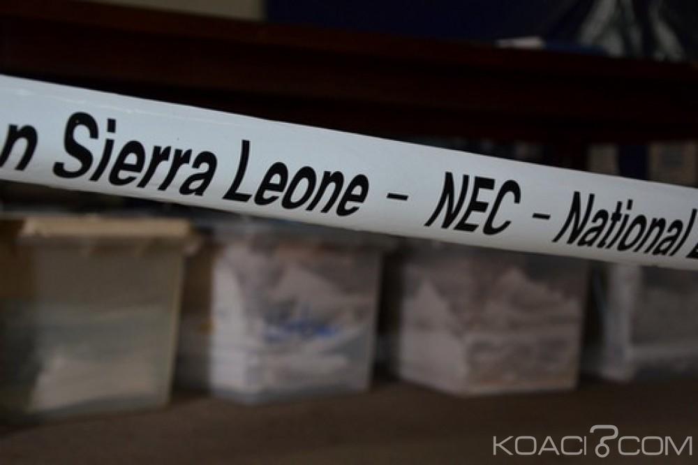Sierra Leone:  Présidentielle, levée d'injonction sur le second tour