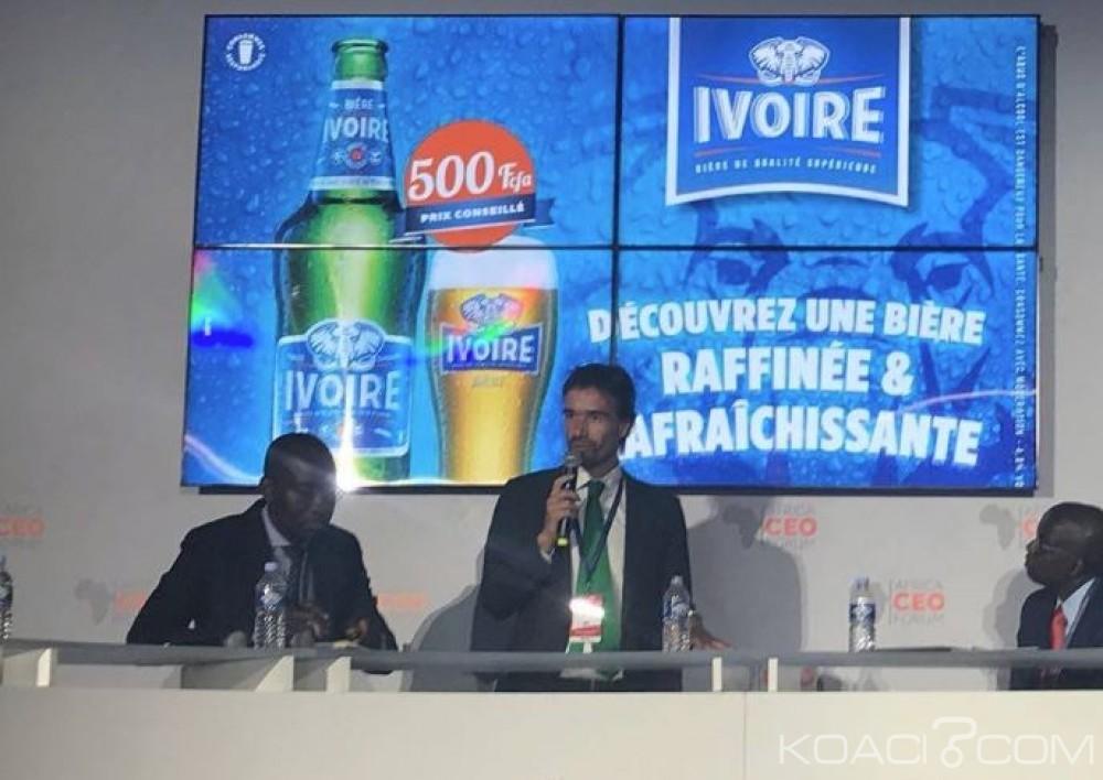 Côte d'ivoire:  Alexander Koch partage l'expérience de Brassivoire lors d'un panel économique à Abidjan