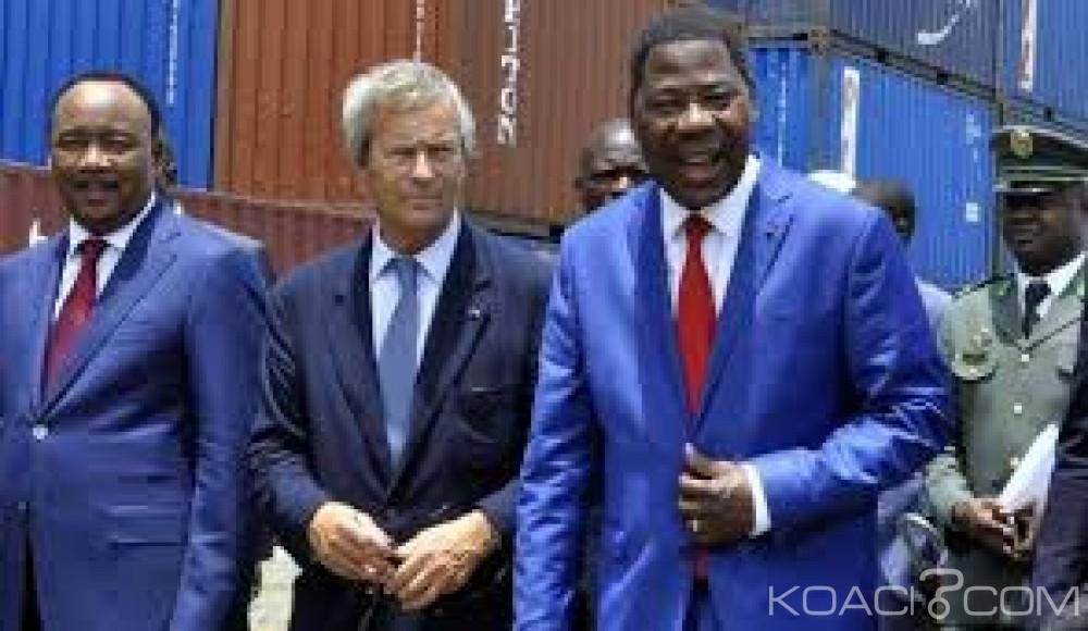 Bénin: Ligne de fer Cotonou-Abidjan: là¢ché par Patrice Talon, Bolloré  «déçu» réclame des indemnisations
