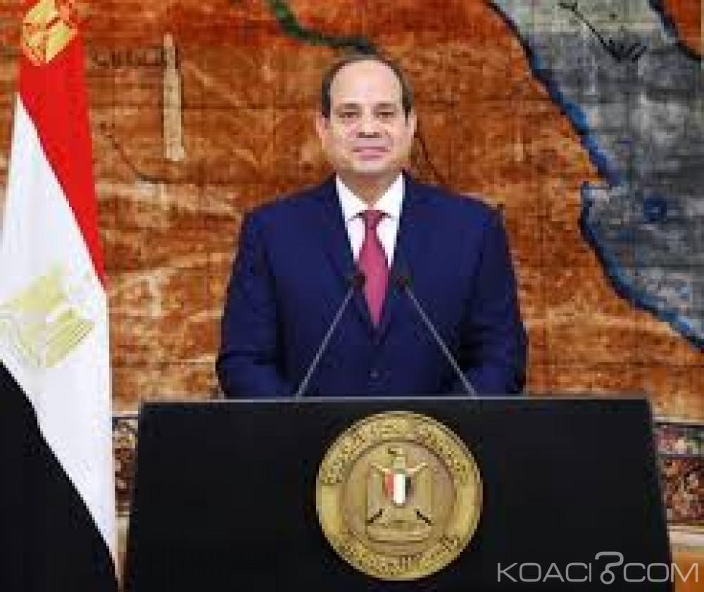 Egypte:  Face à un candidat méconnu , Al-Sissi remporte la présidentielle avec 92 % des voix